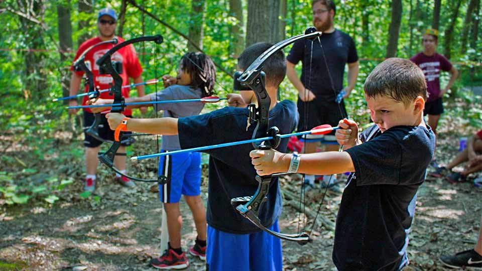 camp archery range