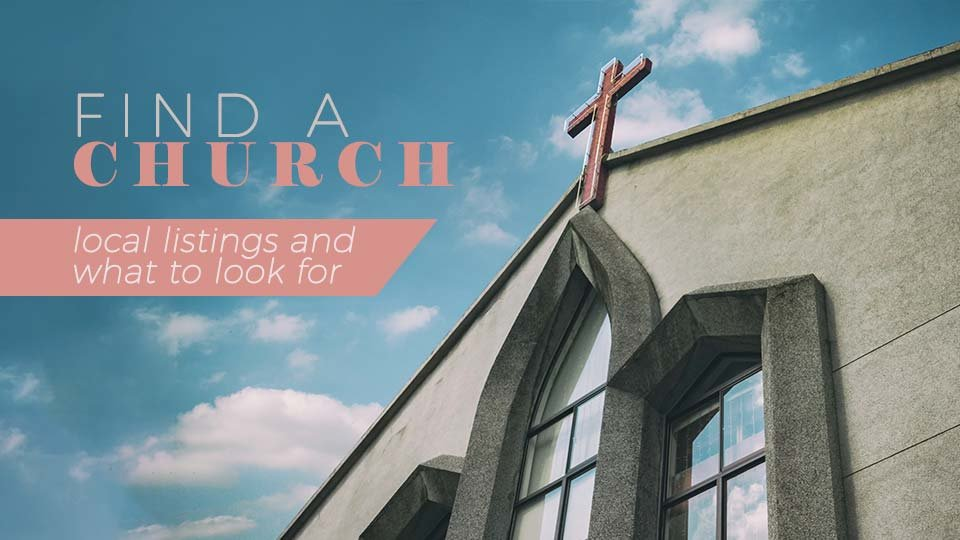 finding a church to attend
