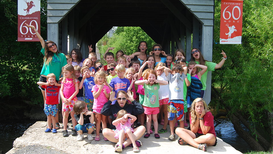 day camp group photo