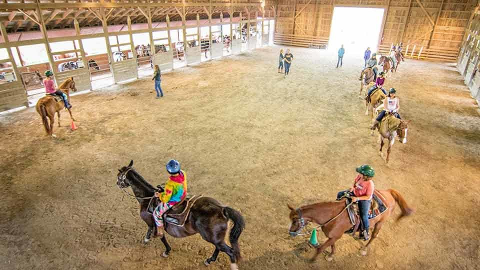 inside Remuda Horse Center