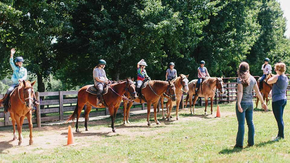 horseback riding lessons in maryland river valley ranchgroup horseback riding lesson