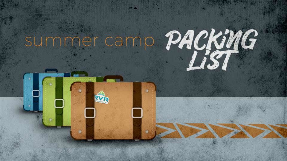overnight summer camp packing list