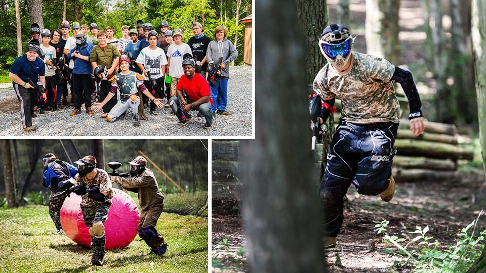 play paintball!
