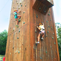 Outdoor Rock Wall