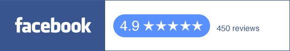 4.9 Star Facebook Reviews