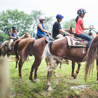 Trail Ride Birthday Parties
