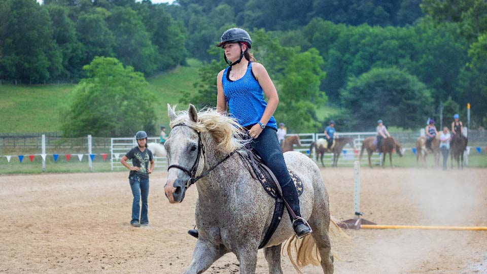 horsemanship riding camp