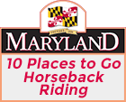 Visit Maryland's '10 Places to go Horseback Riding'