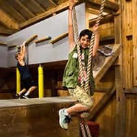 Ninja Warrior Activity Barn