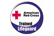 Red Cross lifeguard certified