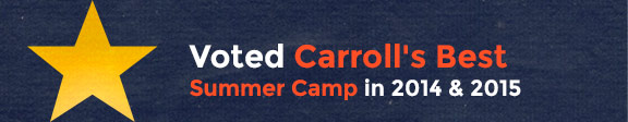 Voted Carroll's Best Summer Camp in 2014 and 2015